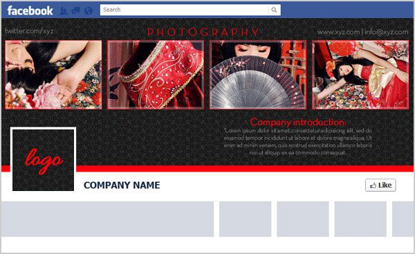 Free Facebook Timeline Cover Psd Template For Brand Page