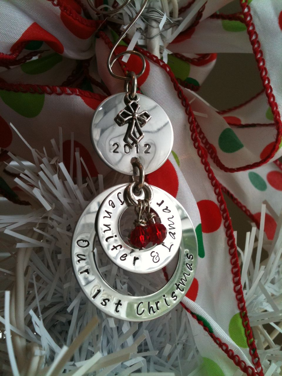 Christmas ornament made by my Mother-in-law Check out her ...