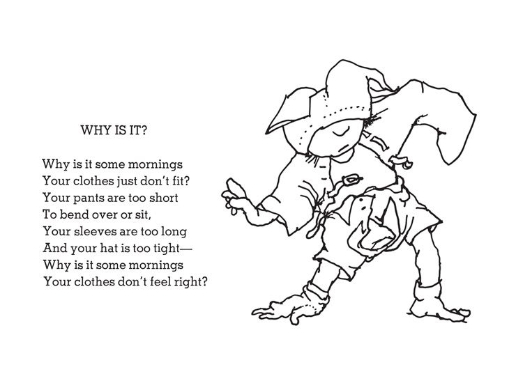 Shel Silverstein - Why is it? (740×550) | shel silverstein ...