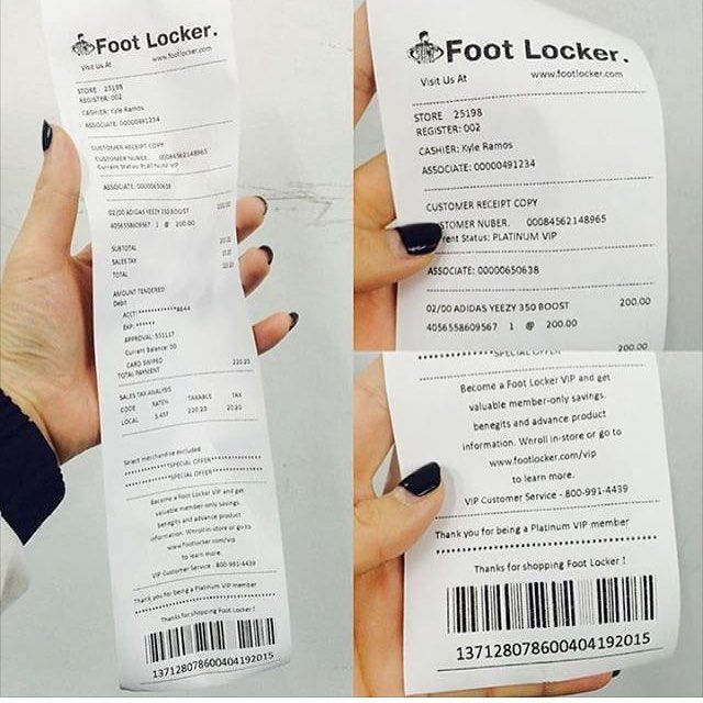32276e5d7 More Fake Receipts For Yeezys....God Almighty It s Getting Crazy Out There!   footlocker  footlockereu  footlocker  fakereceipt  fake  igsneakers ...