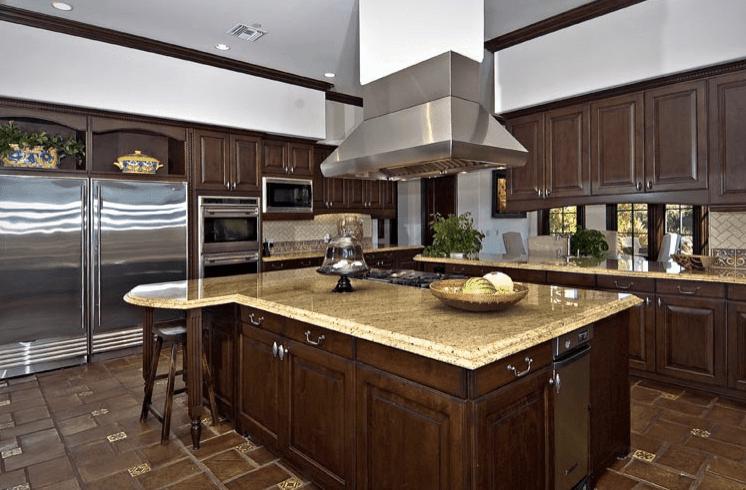 101 Stunning Celebrity Kitchen Designs (Photo Gallery) in