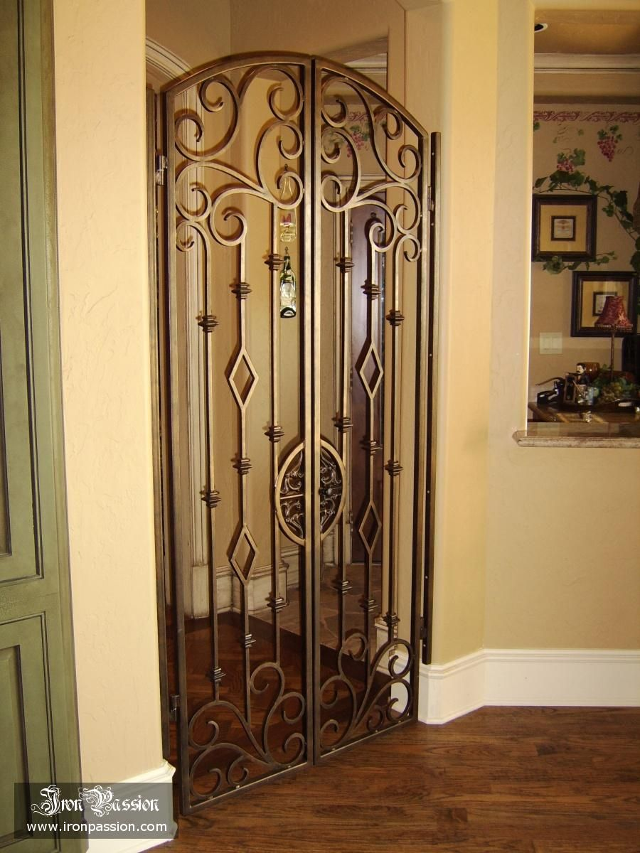 Interior Wrought Iron Gates Interior Wrought Iron Metal