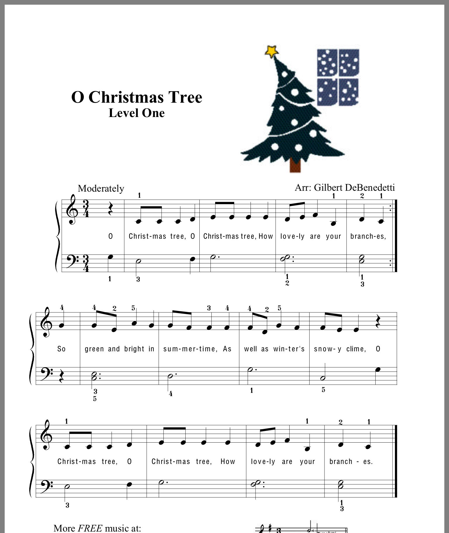 O Christmas Tree Popular Piano Sheet Music Piano Sheet Music Piano Music