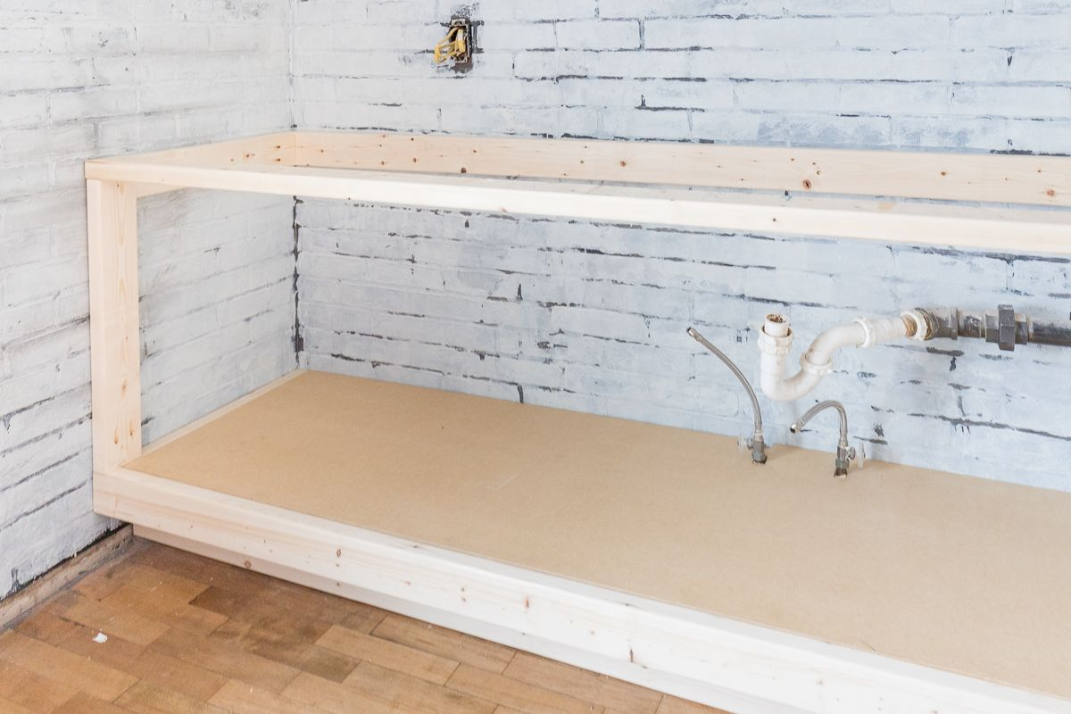 Diy 2x4 Kitchen Cabinets Tutorial Cherished Bliss In 2020 Building Kitchen Cabinets Diy Cabinet Doors Diy Kitchen Cabinets Build