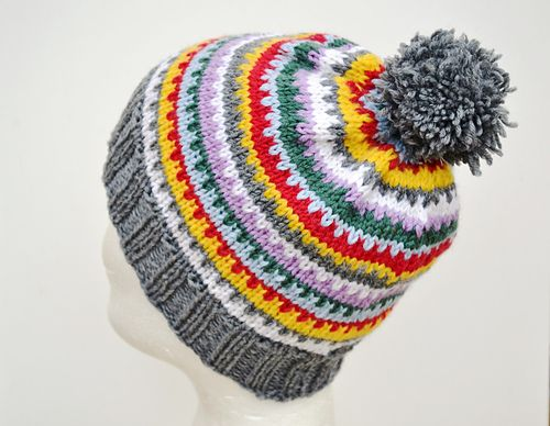 Scrappy Ski Hat Is Just A Simple Slouchy Or Beanie If You Make It