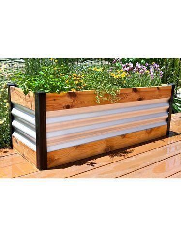 Modular Raised Bed Aluzinc Steel Gardener S Supply Metal