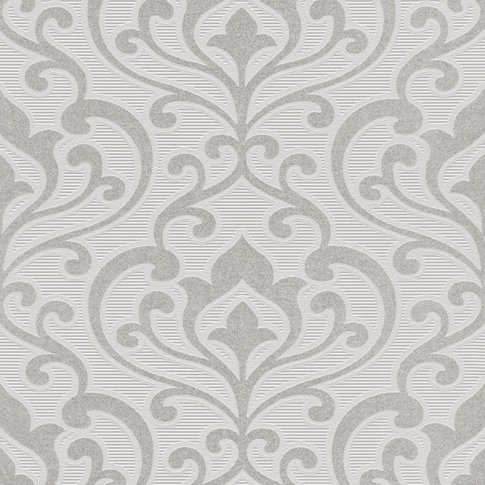 Rasch Queens Scroll Paste the Wall Wallcoverings with