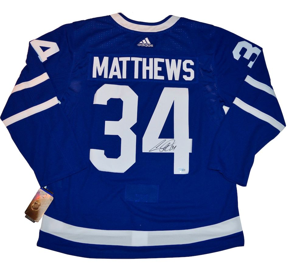 Fanatics Authentic Autographed Auston Matthews Toronto Maple Leafs Authentic Adidas Jersey Toronto Maple Leafs Hockey Maple Leafs Hockey Toronto Maple Leafs