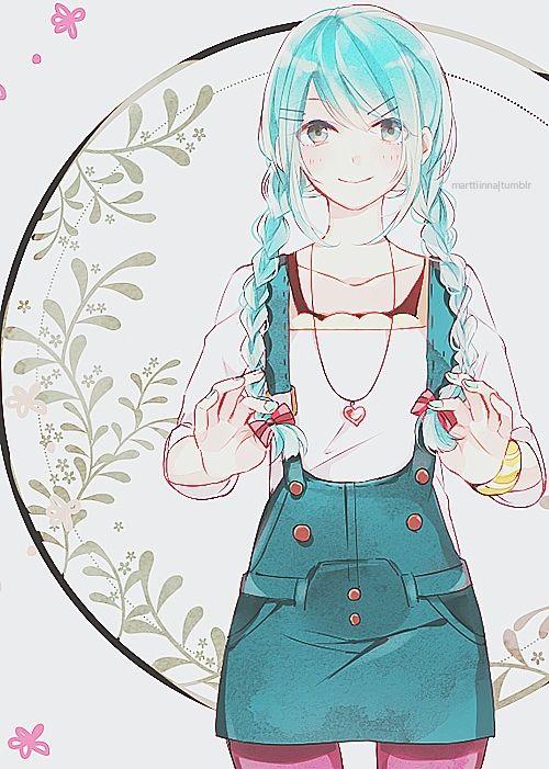 Hatsune Miku Anime Anime Artwork Kawaii Anime