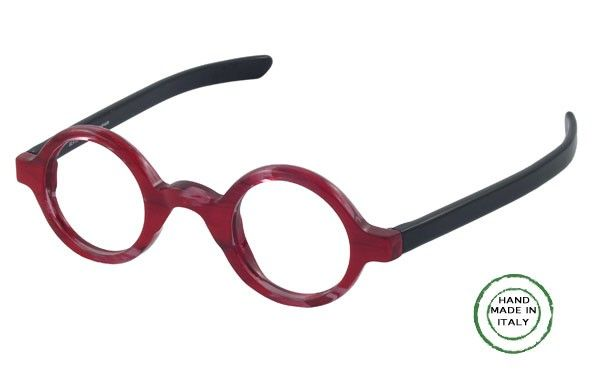 54abfa8dd3 Our latest addition to our collection of ROUND eyeglasses. Paddle temples  are in contrasting color
