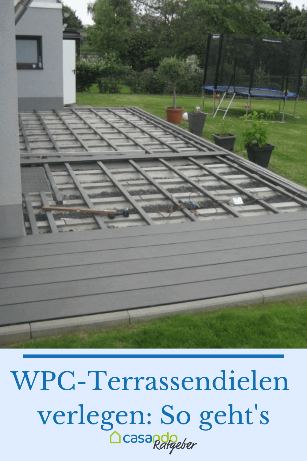 Lay Wpc Planks Lay Planks Wpc In 2020 Garden Design Backyard Deck
