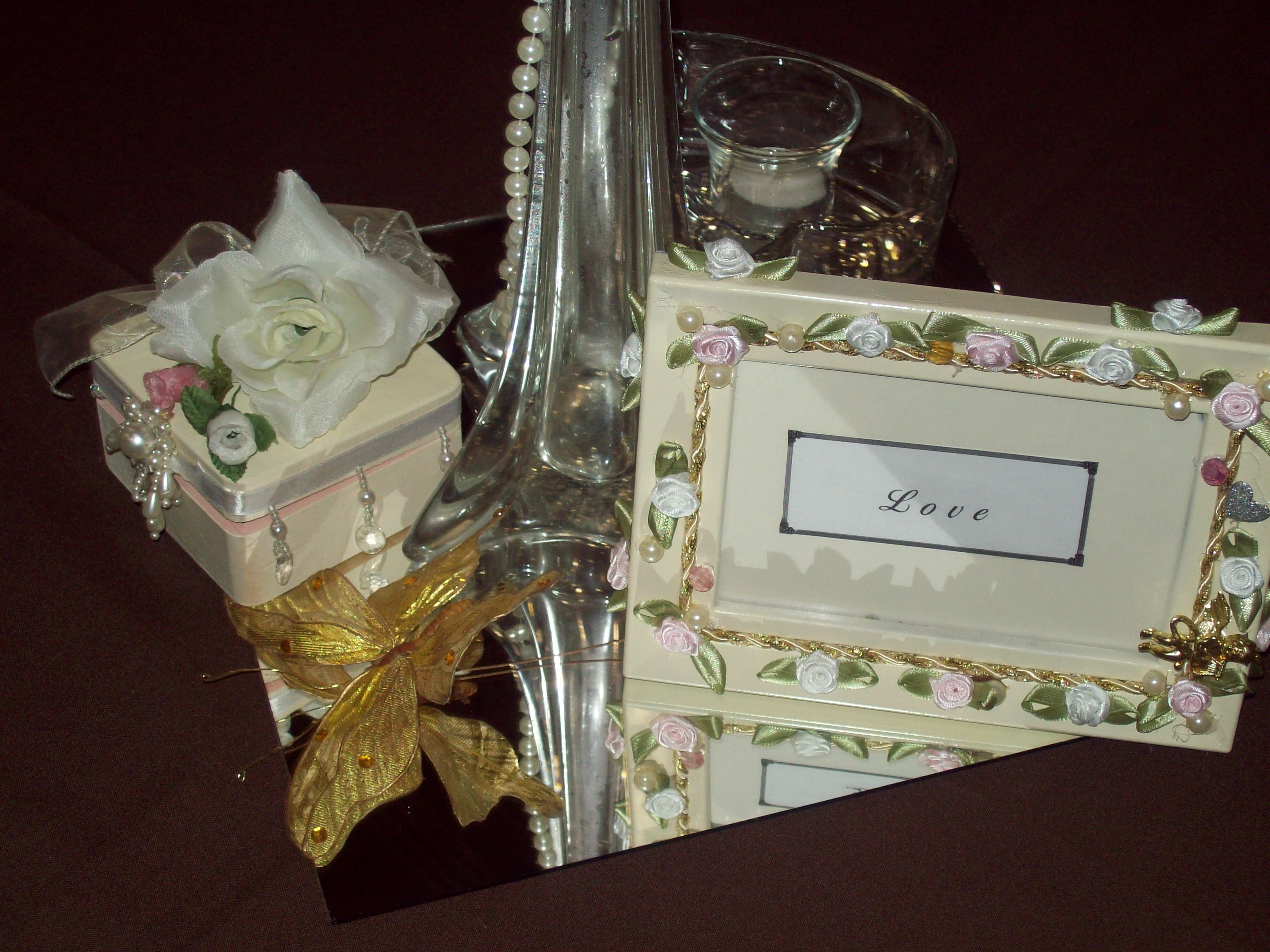 Wedding centerpieceby carmenus creations carmenus creations