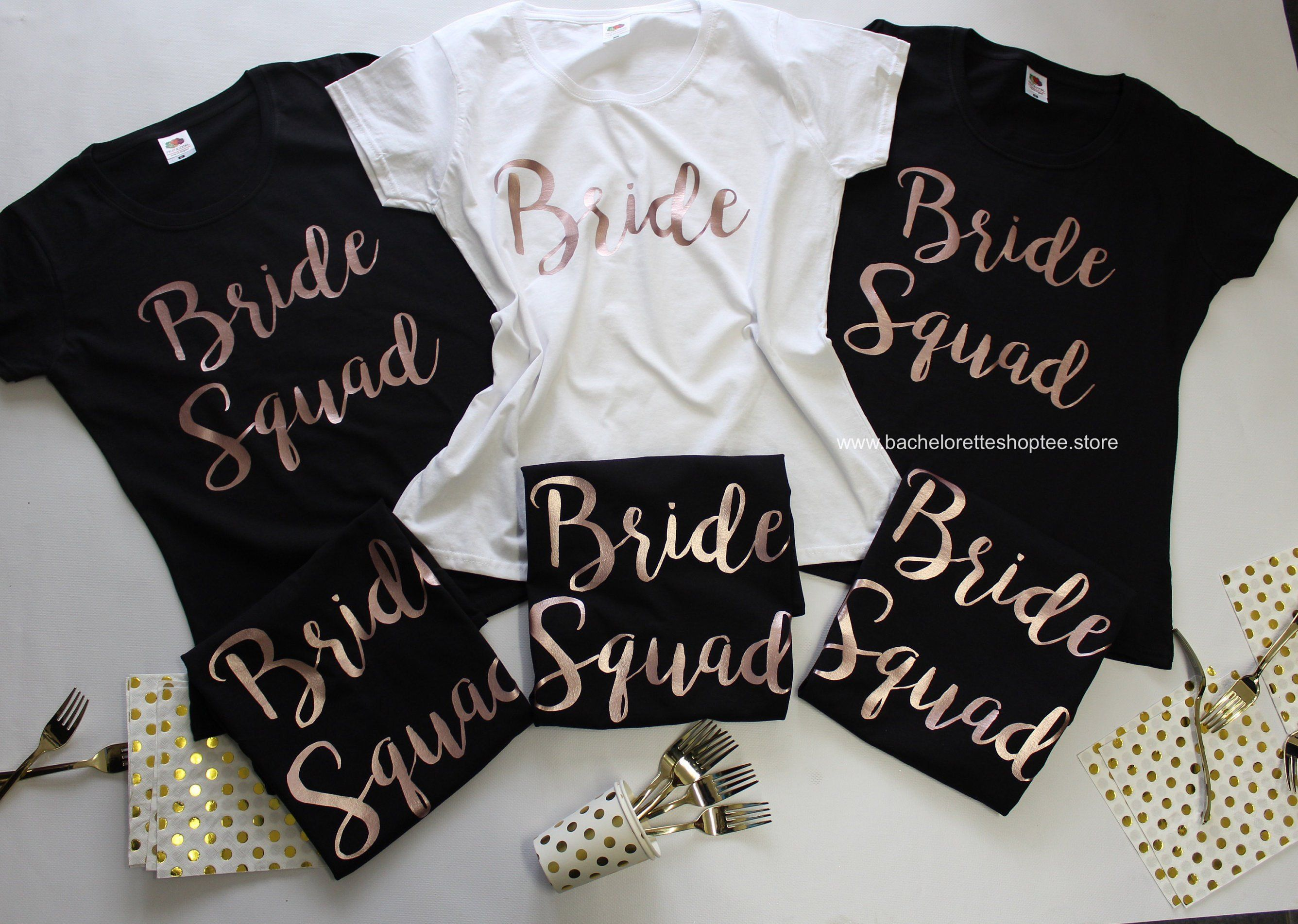 HEN PARTY VEST TOP WHITE FITTED TOP TEAM BRIDE SILVER TEXT OPTION TO PERSONALISE