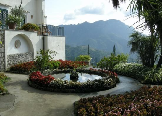 Ravello Itally The Hotel Parsifal Where We Stayed