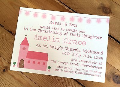 #Handmade christening/baptism #invitations #personalised,  View more on the LINK: http://www.zeppy.io/product/gb/2/172255387298/
