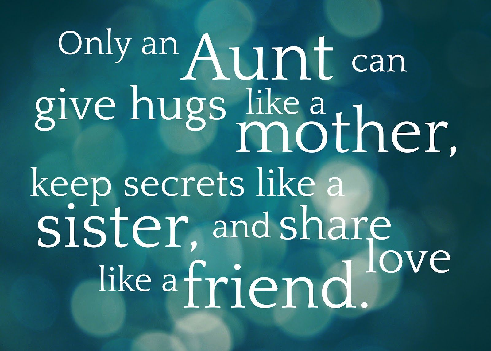 Only An Aunt Free Printable Birthday Wishes For Aunt Aunt