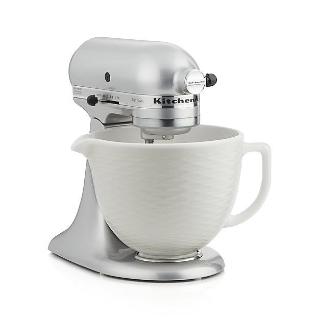 Customize Your Stand Mixer With This Handsome Textured Ceramic