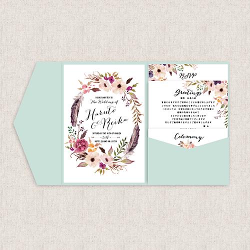 結婚式の招待状の準備なら高品質でおしゃれなEYMオリジナル招待状