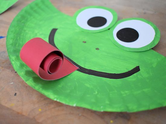 Photo of Paper Plate Frog Craft