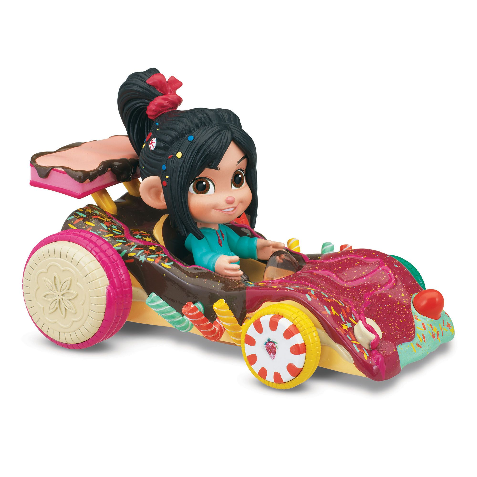 wreck it ralph sugar rush vehicle with figure vehicles trains on birthday cakes walmart ca