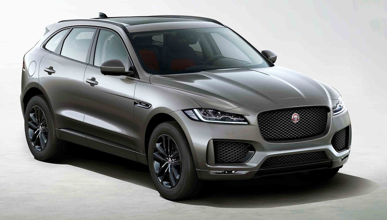 Jaguar FPACE Chequered Flag, 2020. JLR have updated their