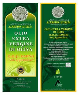 olio extravergine etichetta classica etichette olio