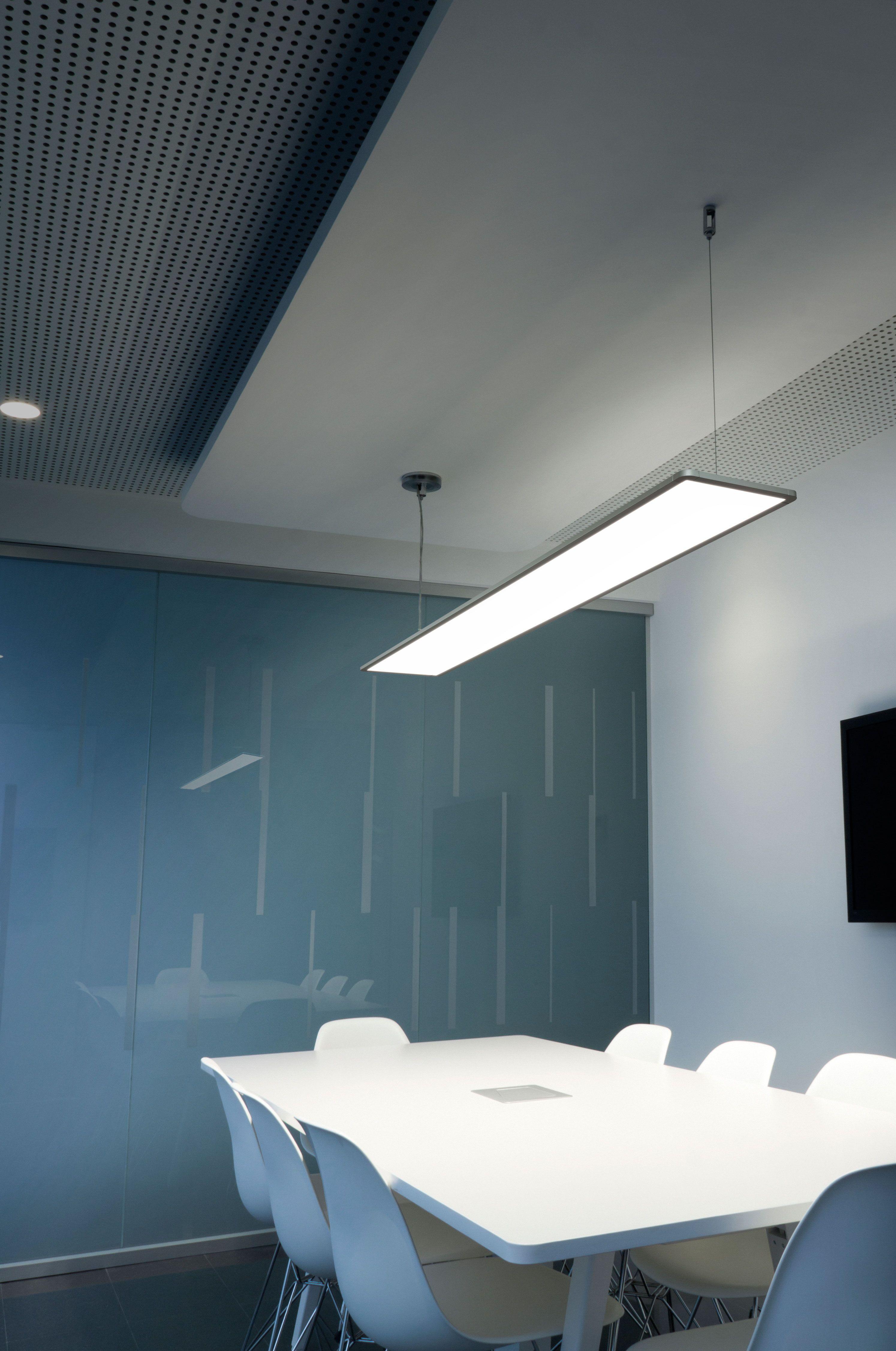 Super Flat Designed By Flos Architectural Office Lighting Ceiling Garage Design Interior Office Lighting