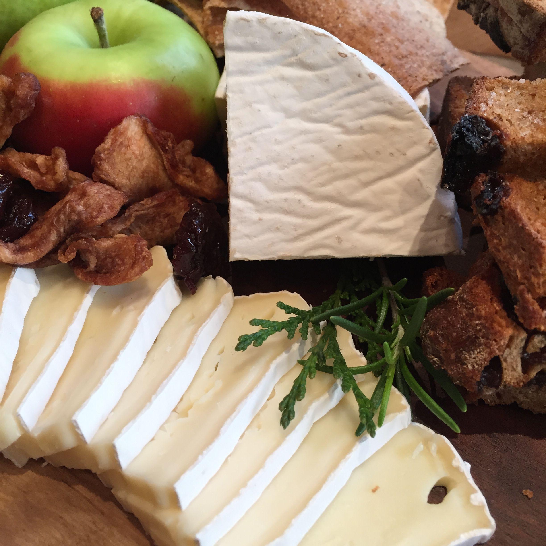 Holiday cheese board.