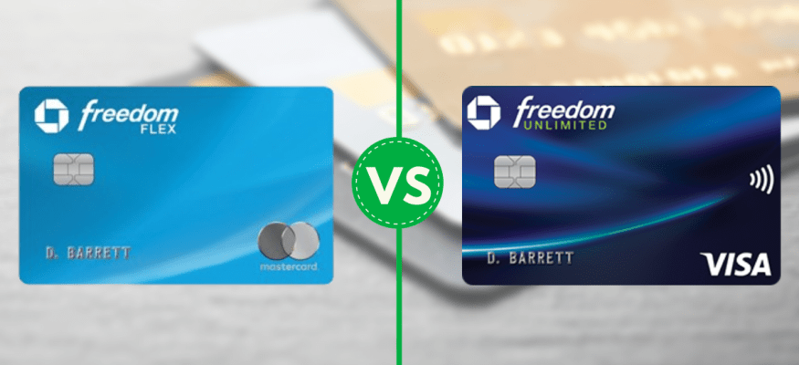 Chase Freedom Flex Vs Freedom Unlimited What S The Difference In 2020 Chase Freedom Freedom Flex