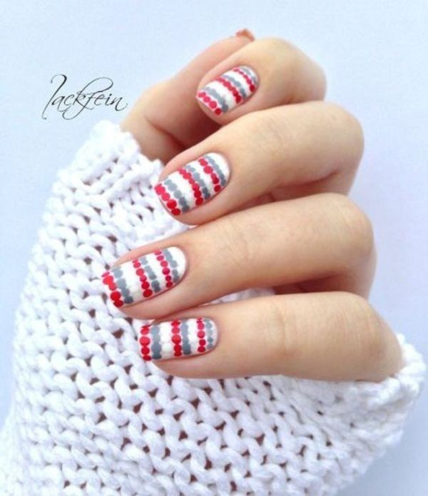 101 Simple Winter Nail Art Ideas for Short Nails | Pinterest ...
