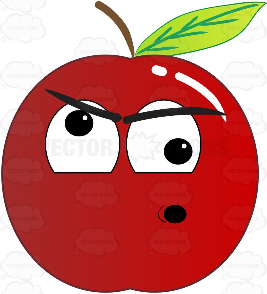 Screwball And Nuts Red Apple Emoji Red Apple Apple Art Emoji
