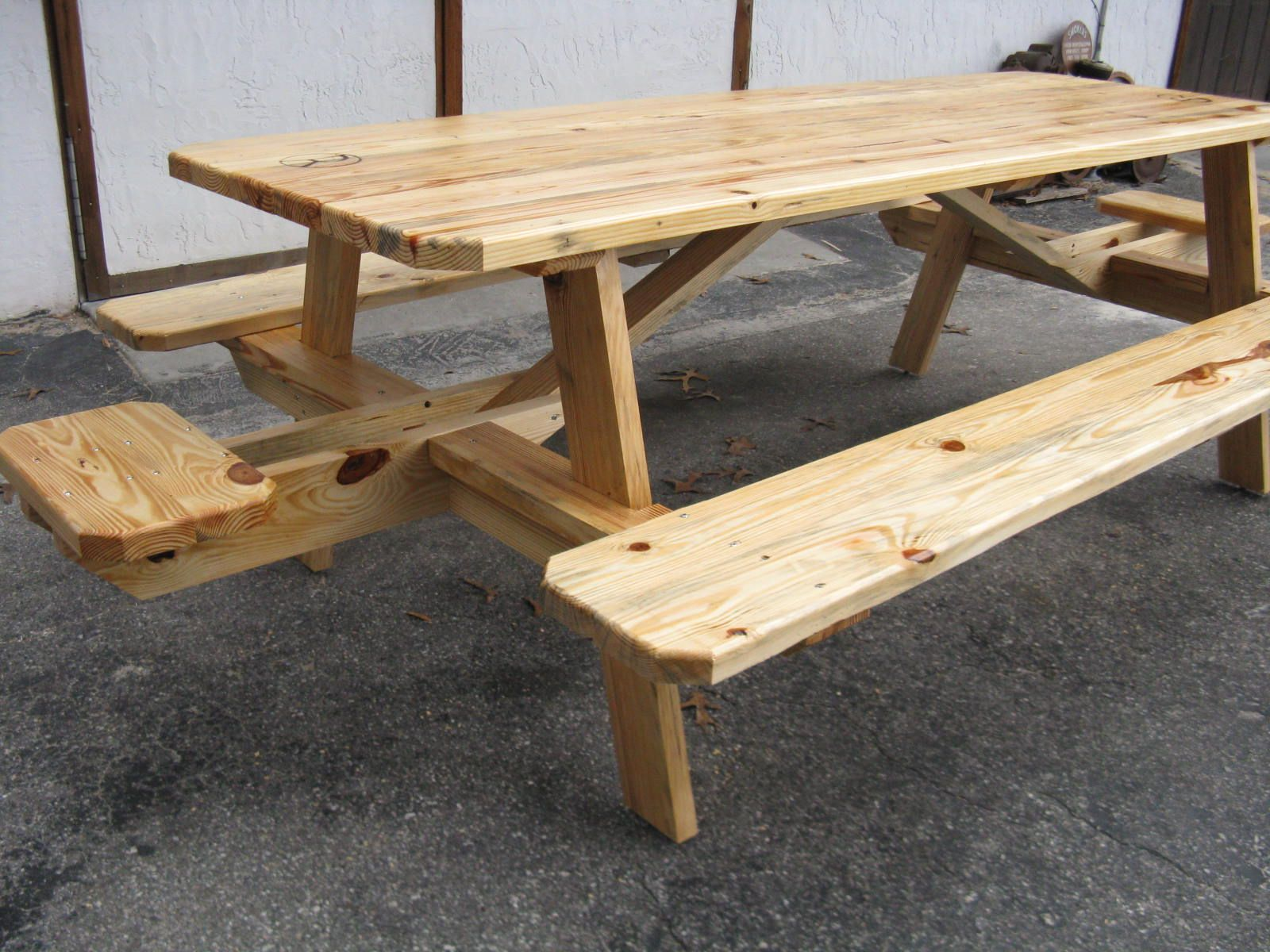 Img 0001 Jpg 1600 1200 Picnic Table Wood Bench Outdoor Wood Dining Table