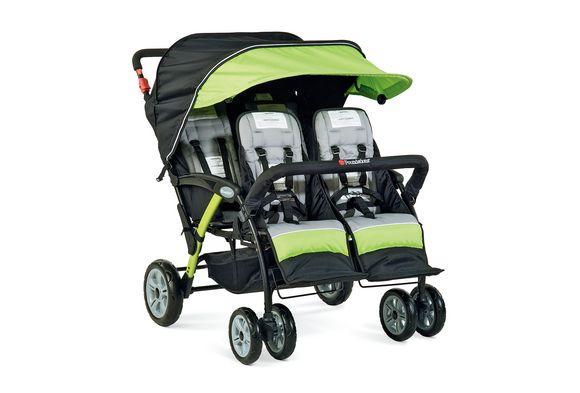 Foundations® Quad Sport™ 4-Passenger Stroller
