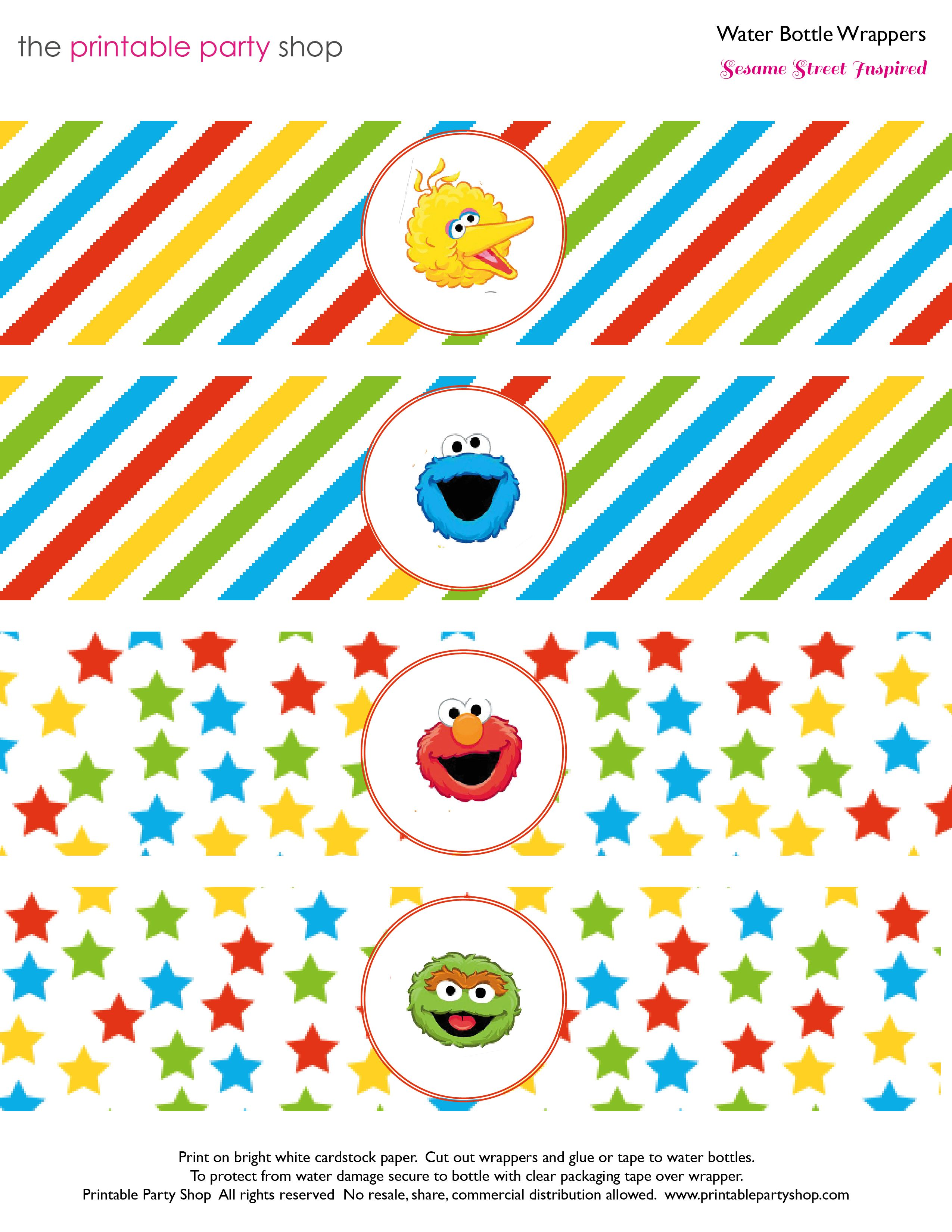 Sesame Street Characters Head Clipart | Sesame street characters ...
