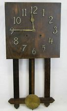 Antique Ingraham Mission Oak Wall Clock Parts Repair In Collectibles Clocks Antique Pre 1930 Wall Ebay Clock Wall Clock Old Clocks