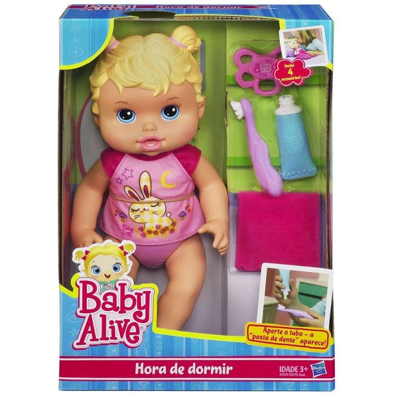 d8293811c6 Boneca Baby Alive - Hora de Dormir - Hasbro