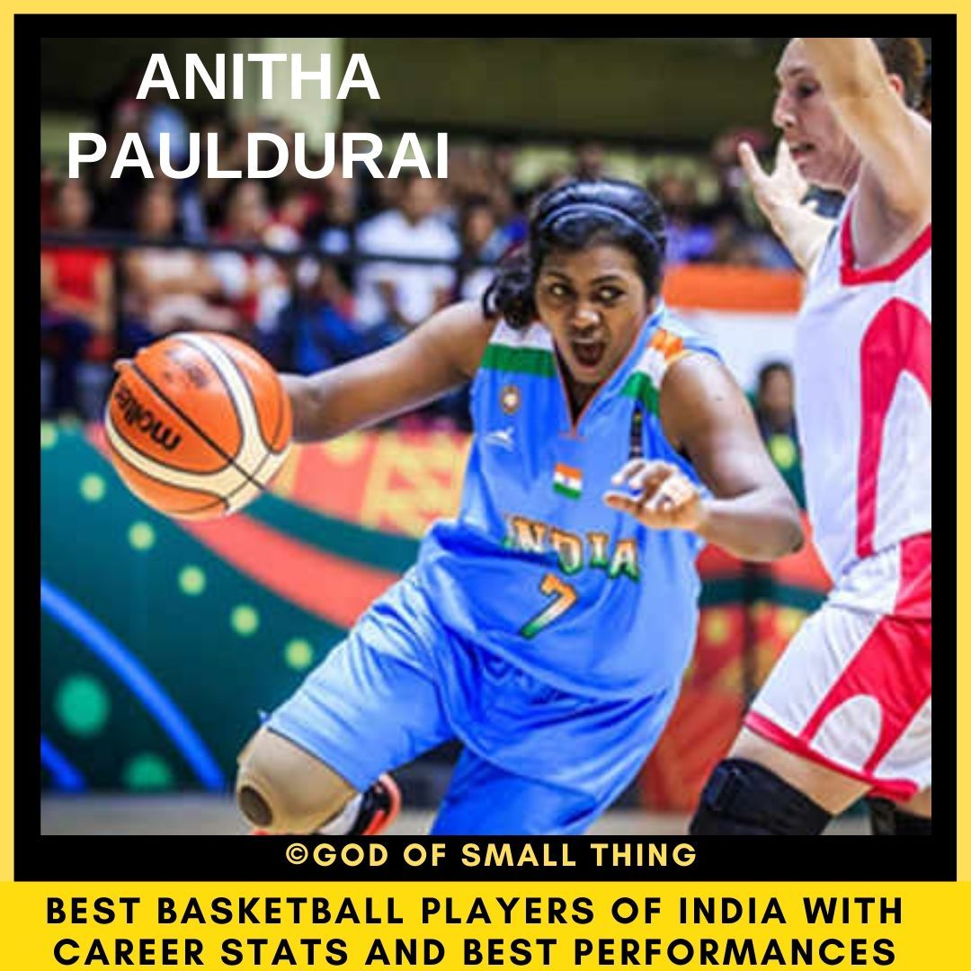 Best Basketball Players Of India Anitha Pauldurai In 2020 Basketball Players Players Basketball