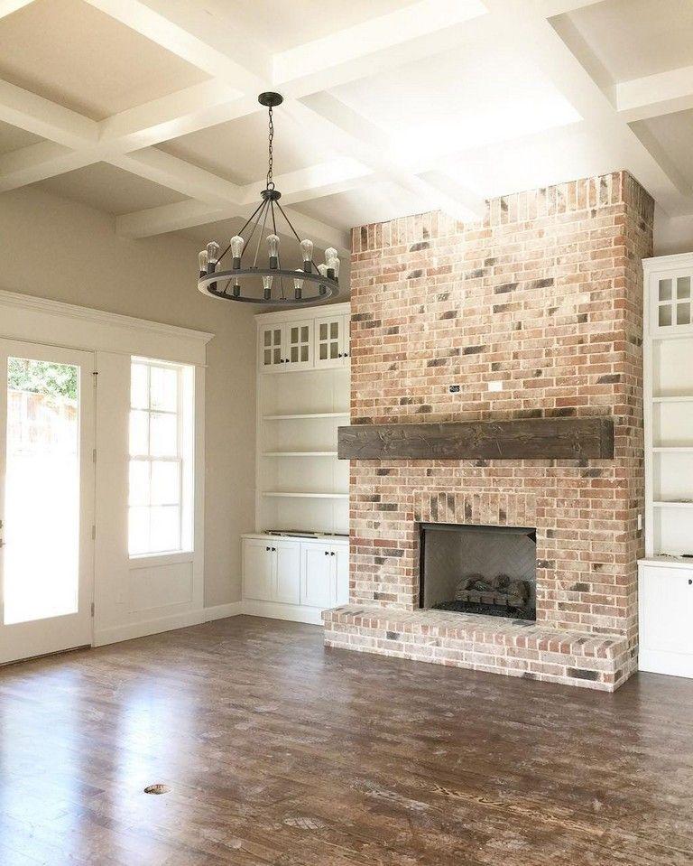 83+ Creative Fireplace Ideas for Your Living Room Design #livingroom