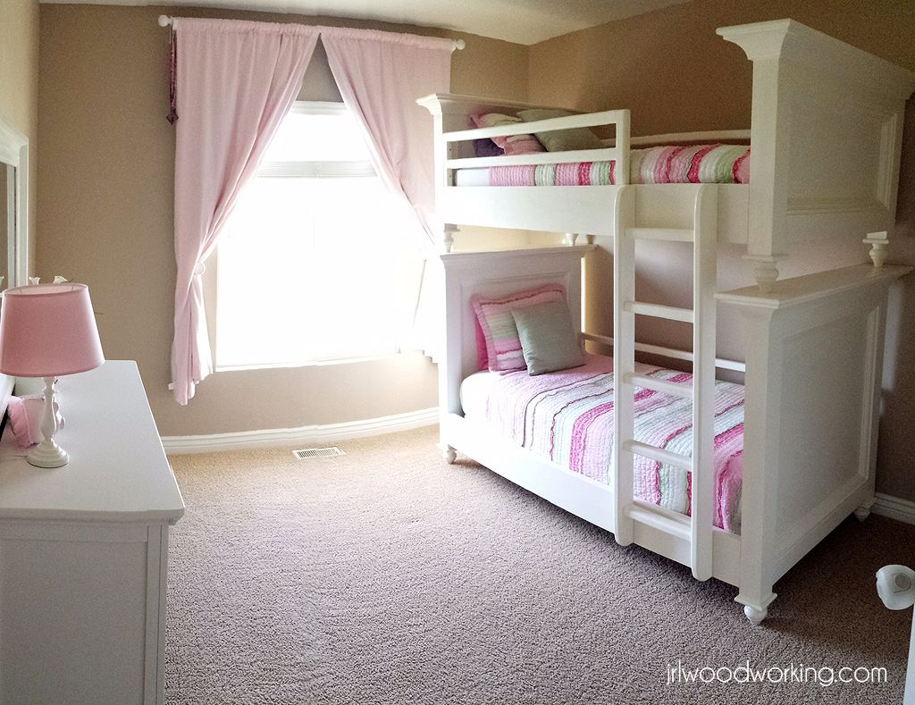 Bunk Beds, Twin Size with Raised Panel Ana White Diy