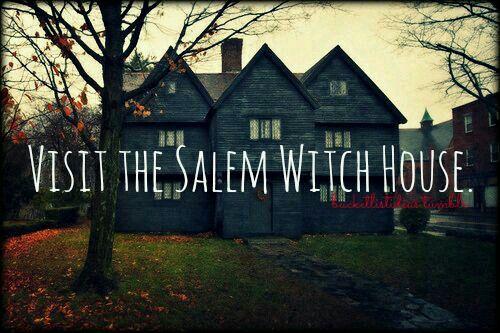 Visit the Salem Witch House [ ]