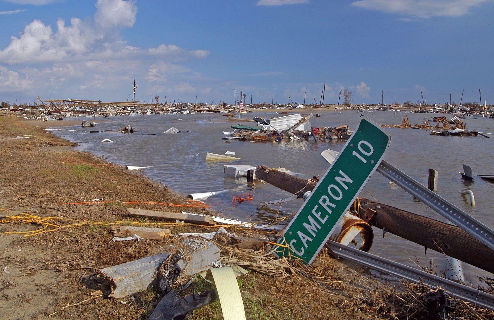 Holly Beach Louisiana Following Hurricane Rita Credit Fema Win Henderson Hurricane Rita Southwest Louisiana Atlantic Hurricane