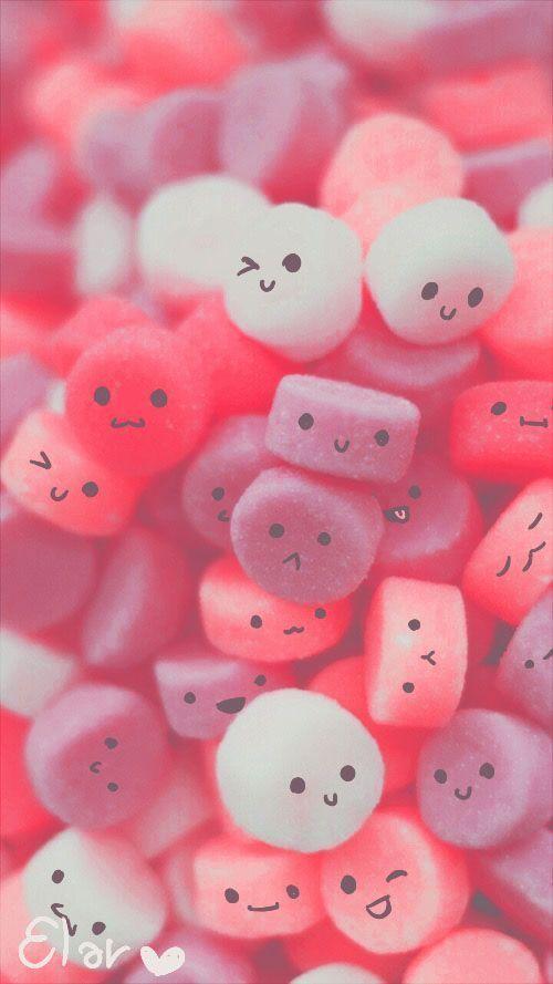 Its #cute and its #pink ???? Phone Screen Wallpaper, Emoji Wallpaper, Pastel Wal… – Marble Decoration