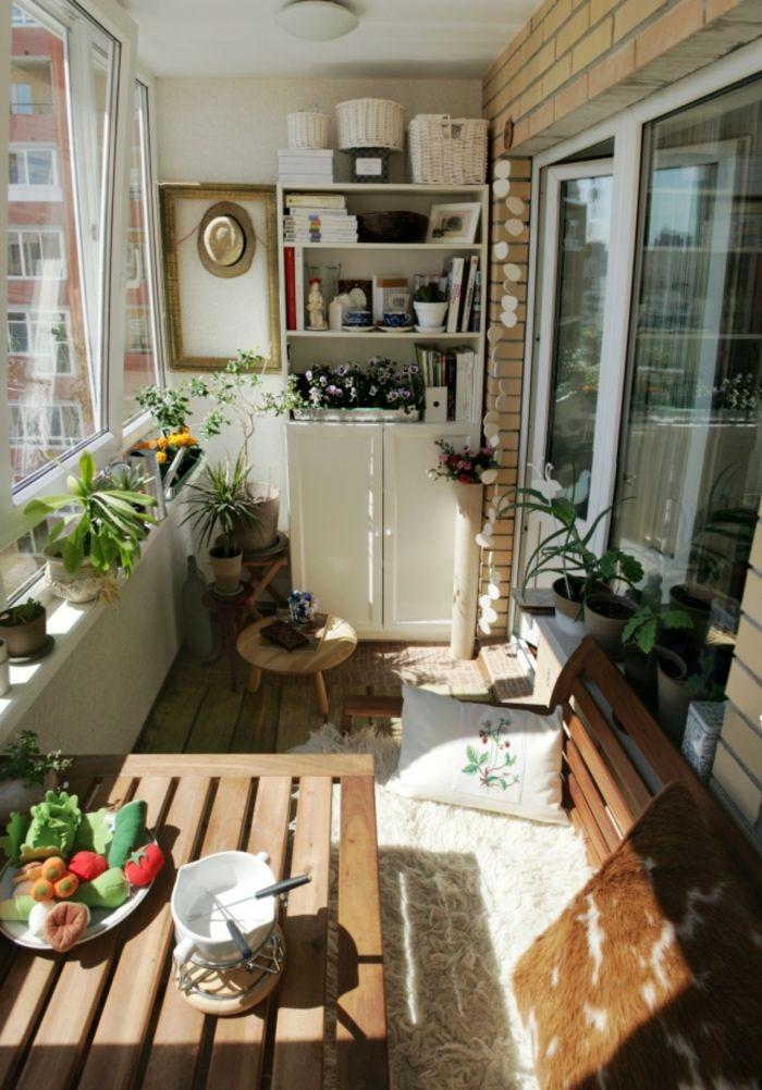 ▷ 1001 + ideas sobre decoración de terrazas pequeñas Pequeña