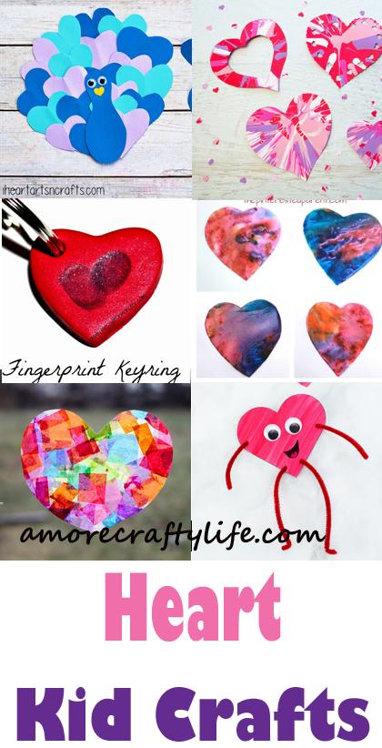Heart Kid Crafts Valentine S Day Fun Diy Kids Crafts Activities Craft Activities For Kids Valentine Crafts For Kids