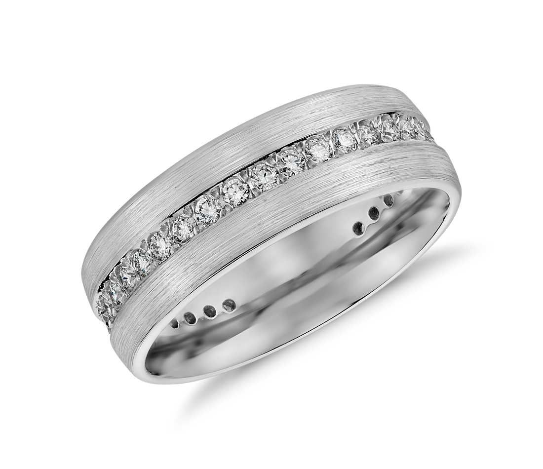 ring brushed designers main cowie jewellery mens jewelsstore colin rings diamond wedding shop