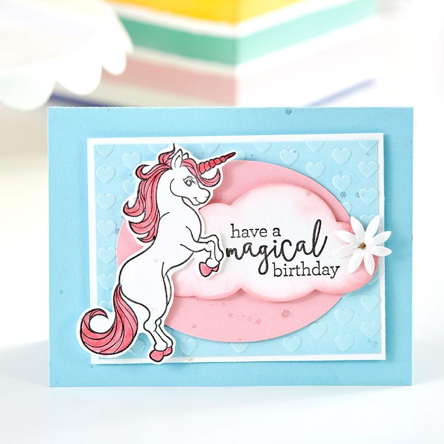 More Blogs Unicorn birthday cards, Unicorn card, Cards