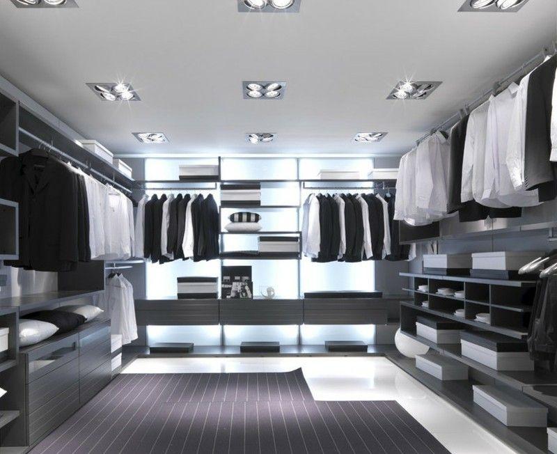 Aménagement dressing moderne– 55 idées design très classe | Wardrobe ...