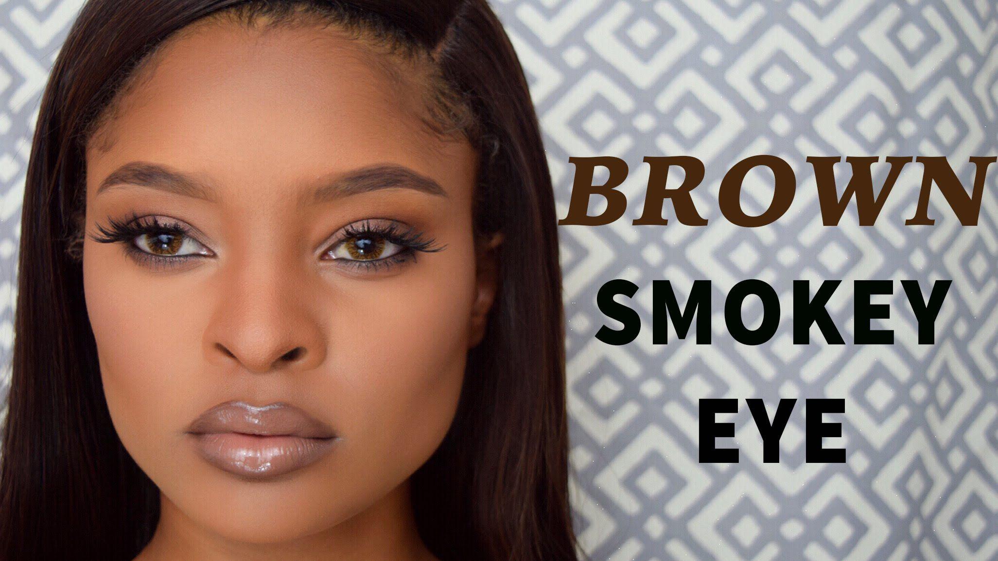 BROWN SMOKEY EYE KRYSSARTT Smokey eye for brown eyes