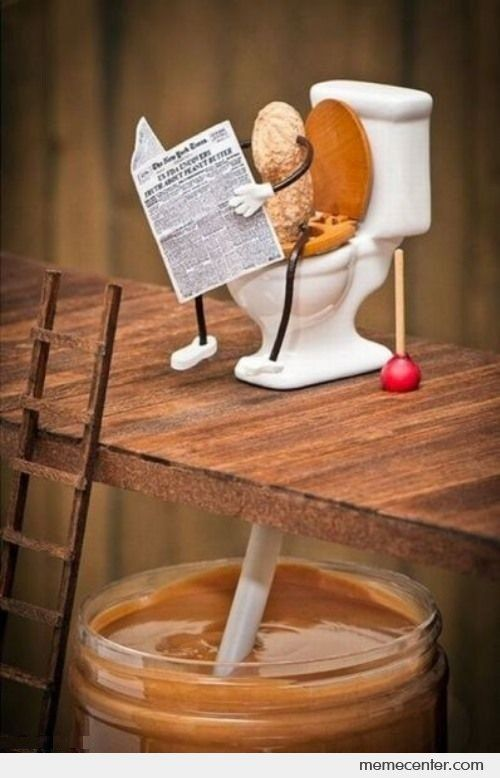 How Peanut butter is made... LOL!