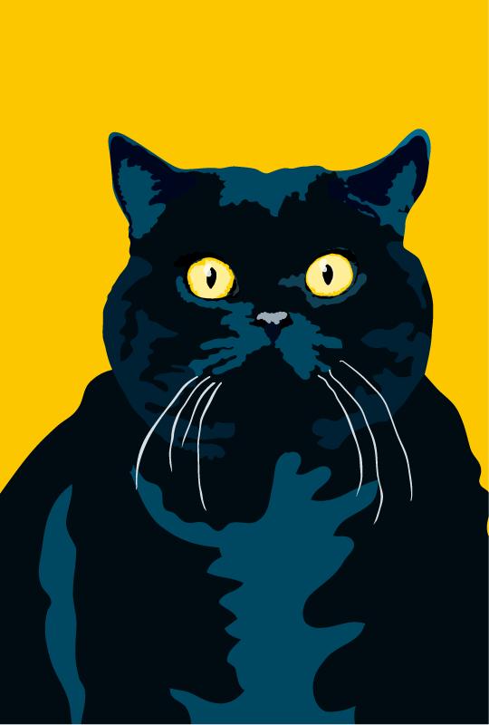 Cat Art Cat Painting Cat Art Illustration Cats Illustration